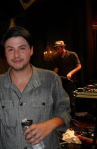 Jamie Woon apres son passage sur le plateau de Jam Sessions du Comedy Club