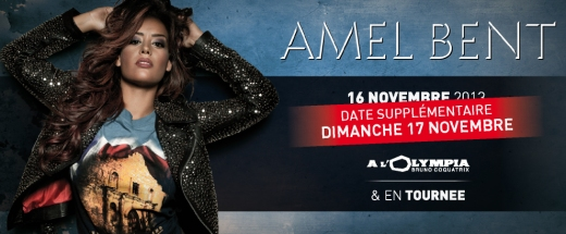 Amel Bent en tournee